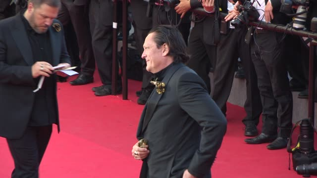 michael madsen at closing ceremony / 'a fistful of dollars' red carpet at palais des festivals on may 24, 2014 in cannes, france. - michael madsen stock videos & royalty-free footage