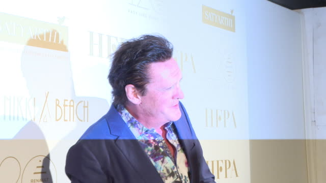 michael madsen at hfpa cannes - the kailash satyarthi childrens foundation at nikki beach on may 13, 2018 in cannes, france. - michael madsen stock videos & royalty-free footage