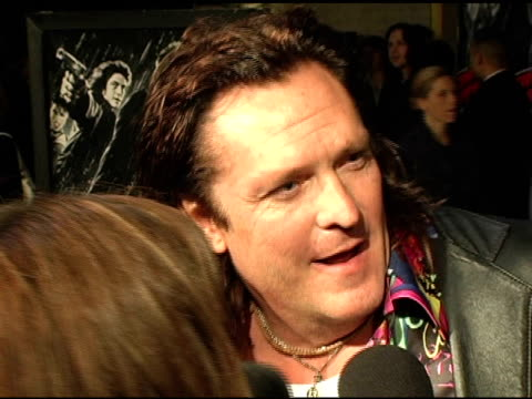 michael madsen at the 'sin city' los angeles premiere at the mann national theatre in westwood, california on march 28, 2005. - michael madsen stock videos & royalty-free footage