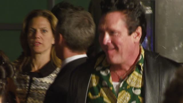 michael madsen at the 'the astronaut farmer' premiere at the cinerama dome at arclight cinemas in hollywood, california on february 20, 2007. - michael madsen stock videos & royalty-free footage