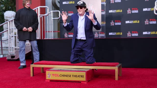 michael madsen attends the hand and footprint ceremony for michael madsen at tcl chinese theatre on november 16, 2020 in hollywood, california. - michael madsen stock videos & royalty-free footage