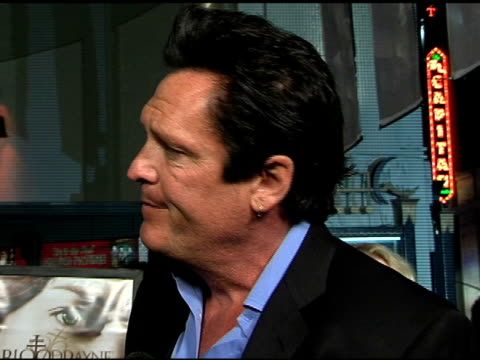 michael madsen on his character 'vladimir', why he wanted to do this film, shooting in romania, wishing he had more time to train with swords,... - michael madsen stock videos & royalty-free footage
