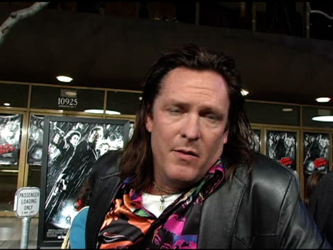 michael madsen on how he was introduced to the sin city comics after signing onto the project, thinks may be like sin city but he lives in malibu and... - michael madsen stock videos & royalty-free footage