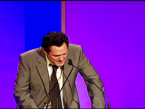michael madsen on quentin tarantino at the 57th ace eddie awards on february 18, 2007. - michael madsen stock videos & royalty-free footage