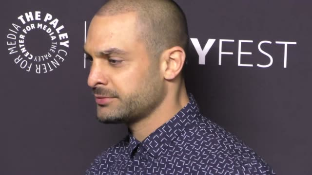 michael mando at the paley center for media 'better call saul' presentation at paleyfest at the dolby theatre in hollywood at celebrity sightings in... - paley center for media los angeles stock videos & royalty-free footage