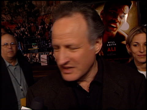 Michael Mann at the 'Ali' Premiere at Grauman's Chinese Theatre in Hollywood California on December 12 2001