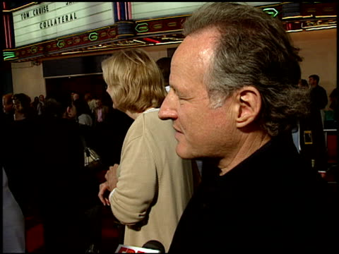 michael mann at the 'collateral' premiere at orpheum theatre in los angeles, california on august 2, 2004. - orpheum theatre stock videos & royalty-free footage