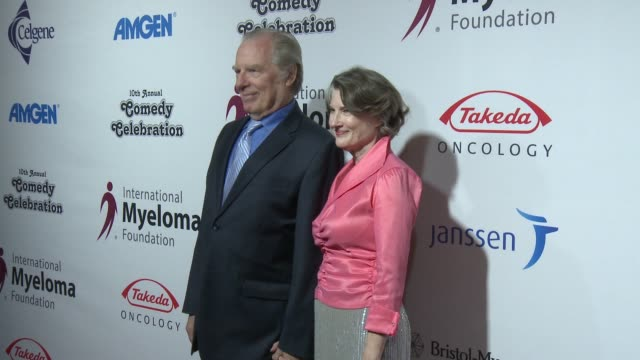 michael mckean, annette o'toole at international myeloma foundation's 10th annual comedy celebration benefiting the peter boyle research fund &... - peter boyle stock videos & royalty-free footage