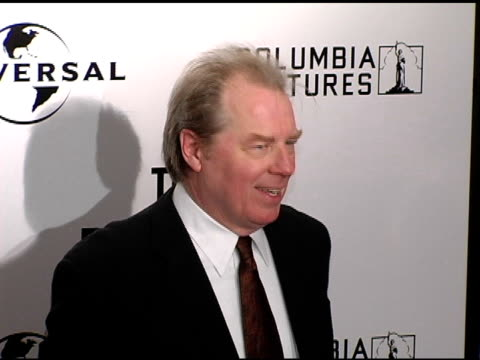 Michael McKean at the New York Premiere of 'The Producers' at the Ziegfeld Theatre in New York New York on December 4 2005