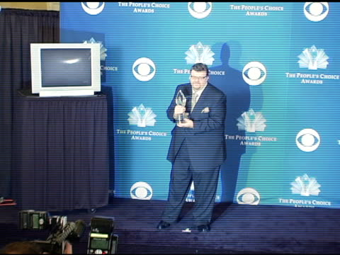 michael moore at the 2005 people's choice awards photo room at the pasadena civic auditorium in pasadena california on january 10 2005 - pasadena civic auditorium stock videos & royalty-free footage