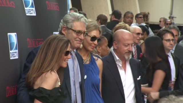 michael nouri and guests at the 'damages' season 4 premiere at new york ny - damages television show stock videos and b-roll footage