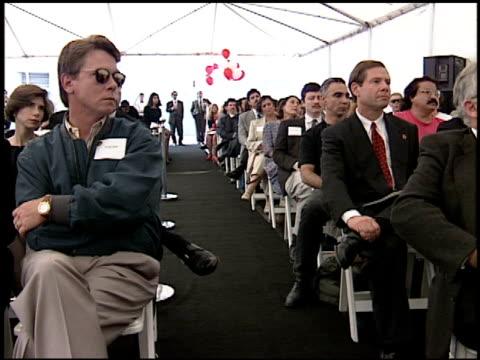 michael ovitz at the starbright foundation center on october 29, 1993. - michael ovitz stock videos & royalty-free footage