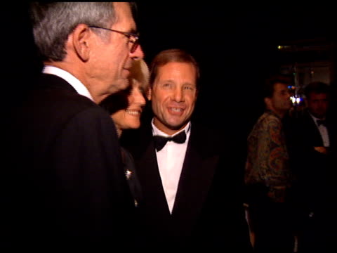 michael ovitz at the weizmann award honoring spielberg at the bevely hilton hotel in beverly hills, california on october 1, 1994. - michael ovitz stock videos & royalty-free footage