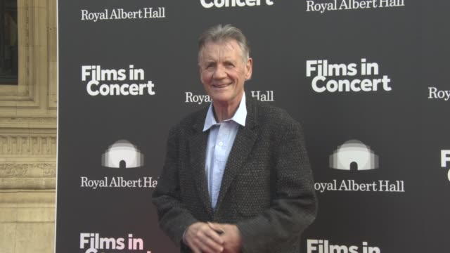 michael palin at brassed off live - special film screening / q&a on may 09, 2017 in london, england. - マイケル パリン点の映像素材/bロール