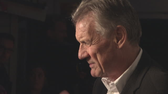 michael palin at 'the death of stalin' uk premiere at curzon chelsea on october 17, 2017 in london, england. - マイケル パリン点の映像素材/bロール