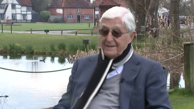 michael parkinson on memories of ronnie corbett england ext michael parkinson interview sot - ronnie corbett stock videos and b-roll footage