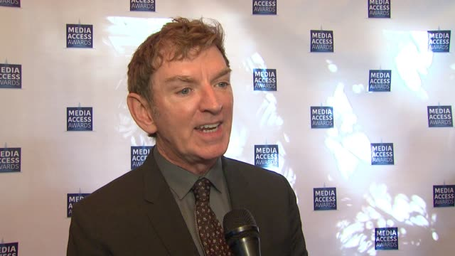 INTERVIEW Michael Patrick King at the Media Access Awards 2017 on November 17 2017 in Los Angeles California
