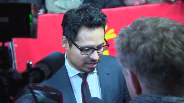 Michael Pena at 'Cesar Chavez' Red Carpet at Berlinale Palast on February 12 2014 in Berlin Germany