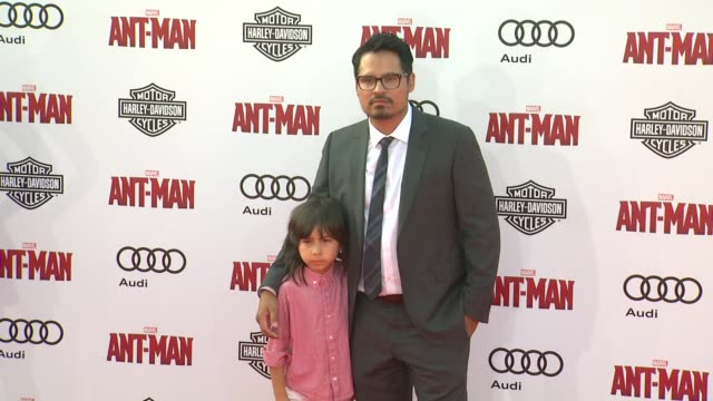 Michael Pena at The World Premiere of Marvel's AntMan at Dolby Theatre on June 29 2015 in Hollywood California