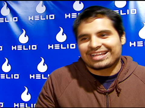 michael pena on the event wedding wishes for tom cruise and katie holmes at the helio drift launch on november 13 2006 - katie holmes stock videos and b-roll footage