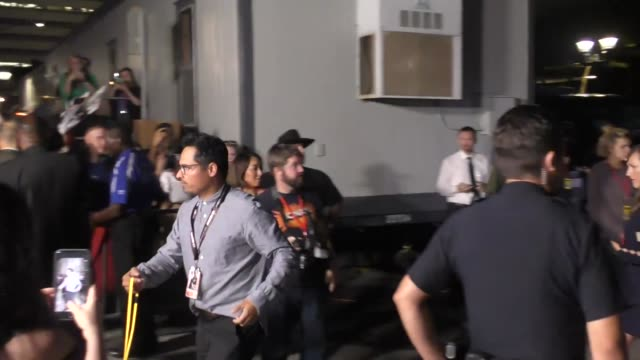 michael pena outside conan o'brien's comic con special at spreckels theatre in san diego in celebrity sightings in san diego - conan o'brien stock videos and b-roll footage