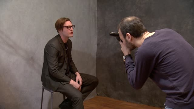 michael pitt at mcdonald's mccafe presents the wireimage portrait studio at village at the lift on in park city utah - mcdonald's stock videos and b-roll footage