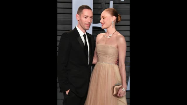 Michael Polish and Kate Bosworth attend the 2018 Vanity Fair Oscar Party hosted By Radhika Jones at the Wallis Annenberg Center for the Performing...