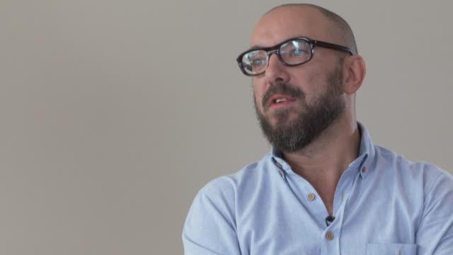 INTERVIEW Michael R Roskam on Matthias Schoenaerts as an actor at 'Racer and the Jailbird' Interviews 74th Venice International Film Festival at...