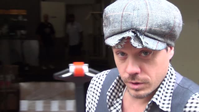 Michael RaymondJames talks about Comic Con on streets of San Diego Comic Con at Celebrity Sightings ComicCon International 2013 Celebrity Sightings...