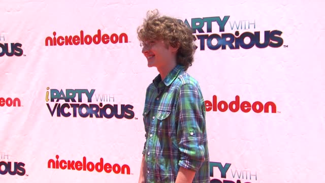 Michael Reid at the Nickelodeon's 'iParty With Victorious' Premiere at West Hollywood CA