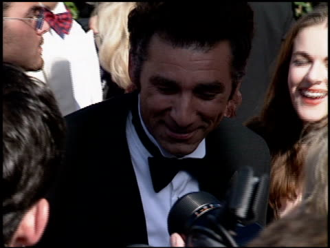 michael richards at the 1994 emmy awards at the pasadena civic auditorium in pasadena california on september 11 1994 - pasadena civic auditorium stock videos & royalty-free footage