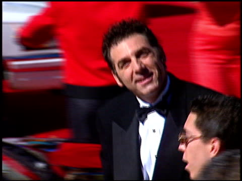 michael richards at the 1996 emmy awards arrivals at the pasadena civic auditorium in pasadena california on september 8 1996 - pasadena civic auditorium stock videos & royalty-free footage