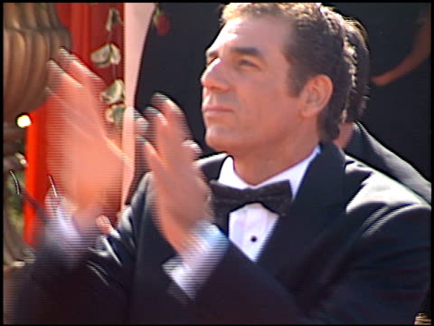 michael richards at the 2000 emmy awards at the shrine auditorium in los angeles, california on september 10, 2000. - shrine auditorium video stock e b–roll