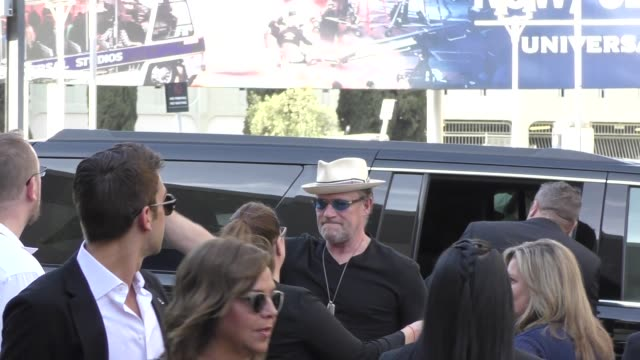 Michael Rooker arrives at the premiere of Avengers Infinity War in Hollywood in Celebrity Sightings in Los Angeles