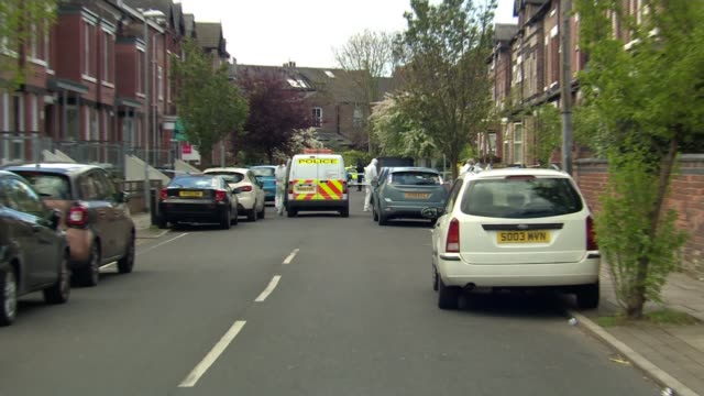former navy officer killed by car thieves michael samwell murder former navy officer killed by car thieves england manchester chorlton ext police... - fermo video stock e b–roll
