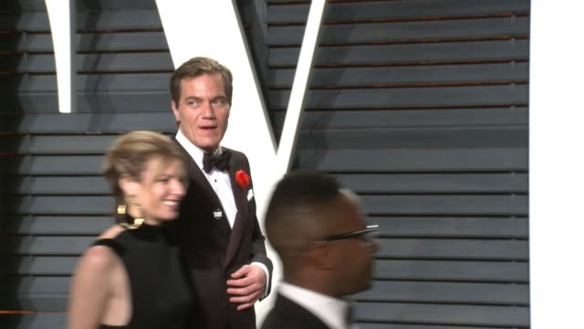 michael shannon at 2017 vanity fair oscar party hosted by graydon carter at on february 26 2017 in beverly hills california - oscar party stock-videos und b-roll-filmmaterial