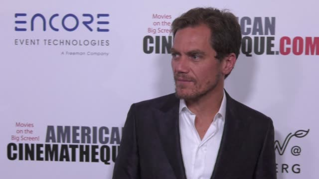 vídeos y material grabado en eventos de stock de michael shannon at the 31st annual american cinematheque awards honoring amy adams at the beverly hilton hotel on november 10 2017 in beverly hills... - premio american cinematheque