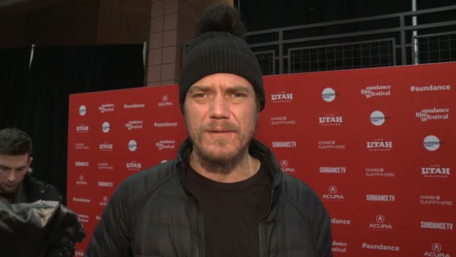 INTERVIEW Michael Shannon at the 'What They Had' World Premiere 2018 Sundance Film Festival at Eccles Center Theatre on January 21 2018 in Park City...