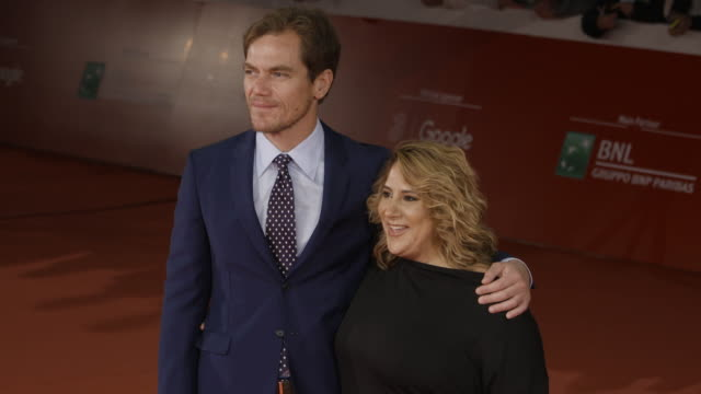 michael shannon jennifer lebeau at trouble no more red carpet 12th rome film fest on november 02 2017 in rome italy - rome film fest stock videos and b-roll footage