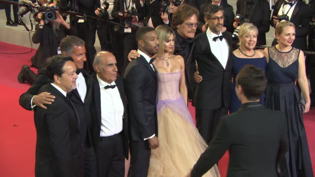 Michael Shannon Michael B Jordan Sofia Boutella Richard Plepler Sarah Green Amir Naderi Ramin Brahani at 'Fahrenheit 451' Red Carpet Arrivals The...