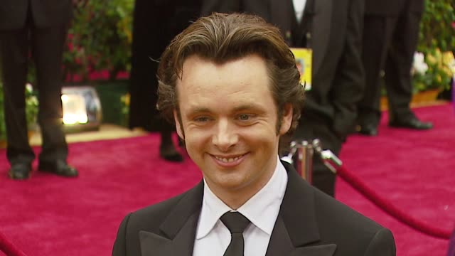 michael sheen at the 2007 academy awards arrivals at the kodak theatre in hollywood, california on february 25, 2007. - michael sheen bildbanksvideor och videomaterial från bakom kulisserna