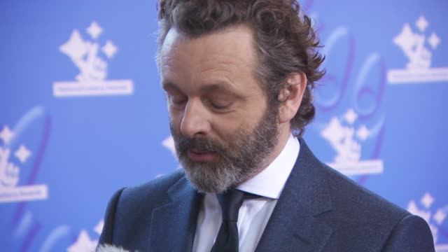 michael sheen at the national lottery awards on september 21, 2018 in london, england. - michael sheen bildbanksvideor och videomaterial från bakom kulisserna