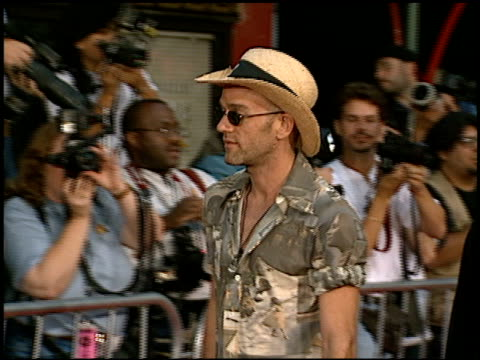 michael stipe at the 'escape from la' premiere at grauman's chinese theatre in hollywood california on august 7 1996 - 1996 stock videos & royalty-free footage