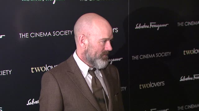 Michael Stipe at the Magnolia Pictures and The Cinema Society Present Premiere of Two Lovers at New York NY