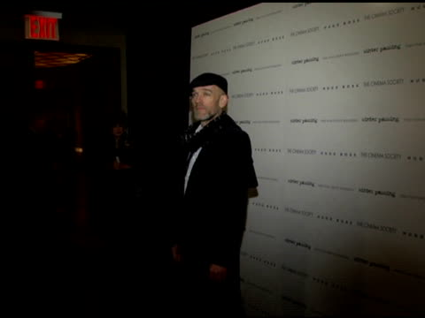 Michael Stipe at the 'Winter Passing' New York Premiere at Tribeca Grand Screening Room in New York New York on February 15 2006