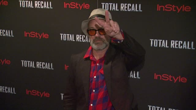 Michael Stipe at 'Total Recall' New York Premiere Arrivals at Chelsea Clearview Cinema on August 02 2012 in New York New York