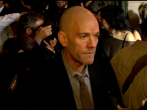 michael stipe on katrina relief how badly it's needed and embracing his role as a celebrity activist at the cartier and interview magazine... - michael stipe stock videos & royalty-free footage