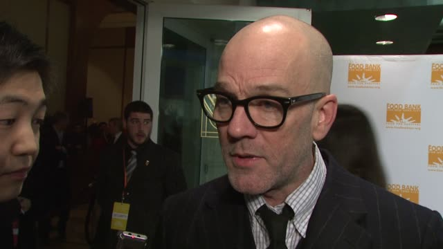 Michael Stipe talks about the organization and how much it does to fight hunger living in both Athens and New York and the importance of helping our...