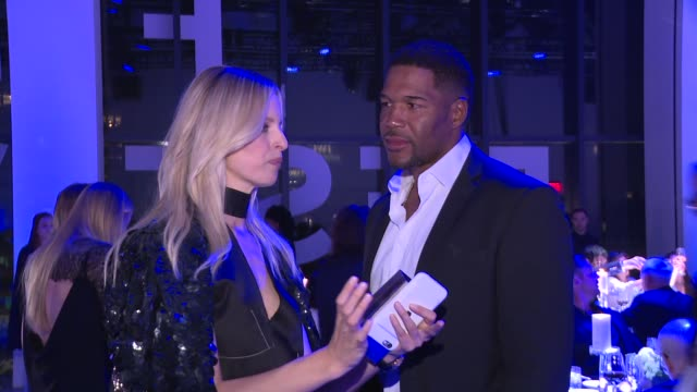 Michael Strahan and Karolína Kurková at IWC Schaffhausen Fourth Annual For the Love of Cinema Gala During The Tribeca Film Festival 2016 at Spring...