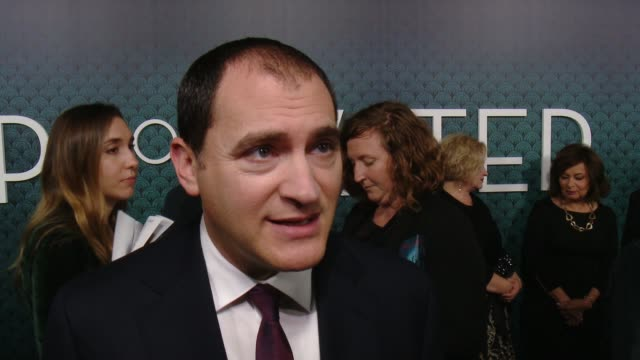 interview michael stuhlbarg on his initial reaction to the script how it felt to know guillermo del toro wrote this character for him talks about the... - academy of motion picture arts and sciences stock-videos und b-roll-filmmaterial
